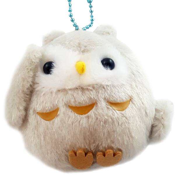 AMUSE Kotori Tai Owl Plush with Ball Chain