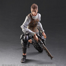 Balthier Figure Kneeling Pose