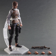 Balthier Figure with Display Stand and extra Hand Pieces plus Gun Piece