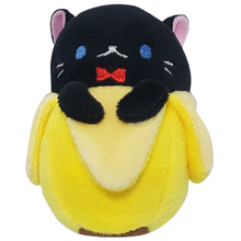Black Cat Bananya Plush