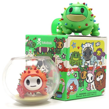 tokidoki Cactus Pets Bubbles Chase and Roger Figures