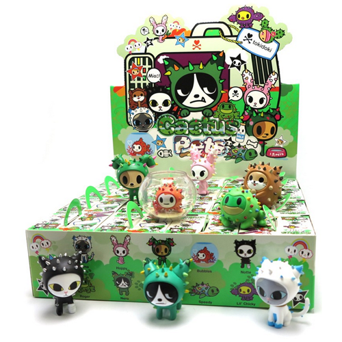 tokidoki Cactus Pets Blind Box Collection