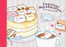Kamio Funifuni Marshmallow Mini Notepad Cover Design