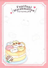 Kamio Funifuni Marshmallow Mini Notepad Page Design 1