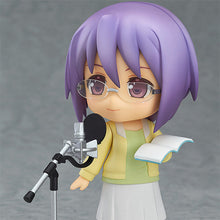 Futaba Ichinose Nendoroid Reading into Microphone