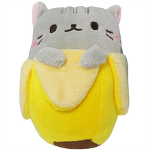Grey Cat Bananya Plush