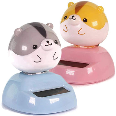 Hamster Dancing Solar Toy in Choice of Color