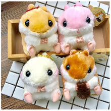 Kawaii Hamster Plush Set of 4