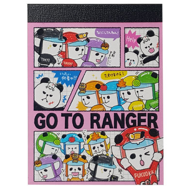 Kamio Go To Ranger Mini Notepad