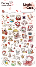 Little Cat Gel Stickers