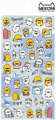 Nekoni Original Designs Duck Stickers