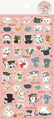 Nekoni Original Designs Cat Stickers