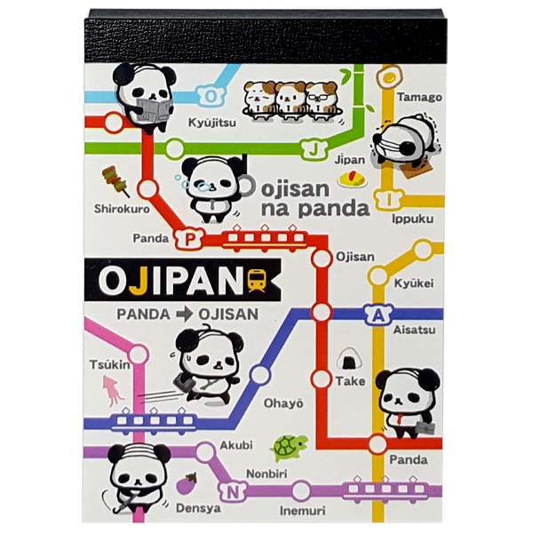 Q-LiA Ojipan Mini Notepad