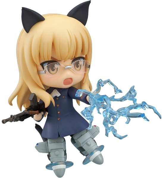 Strike Witches Perrine H Clostermann character decal sticker