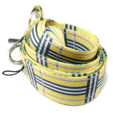 Plaid Lanyard