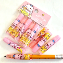 Q-LiA Bananya Pink Pencil Caps