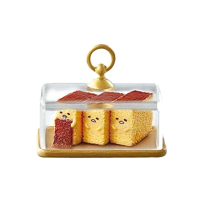 Re-Ment Gudetama Sweets #5 Castellas Cake