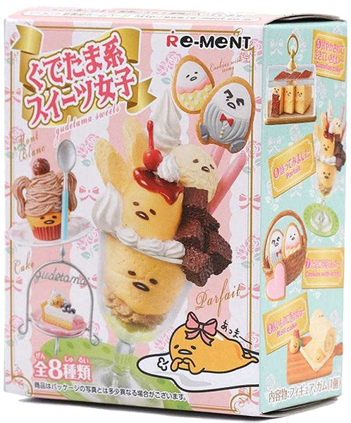 Re-Ment Gudetama Sweets Figure Blind Box