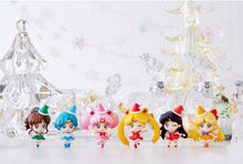 Sailor Moon Petit Chara Christmas Holiday Figures in Diarama