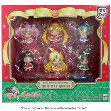 Sailor Moon Christmas Holiday Petit Chara Figures Boxed