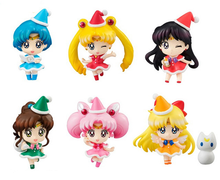 Sailor Moon Petit Chara Christmas Holiday Figure Set