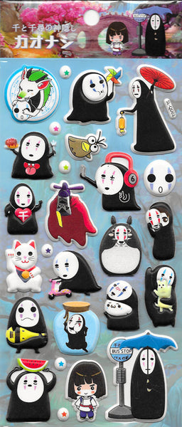 Kaonashi Sticker Sheet Style 1