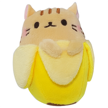 Tan Cat Bananya Plush