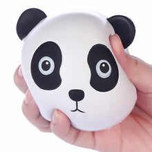 Vlampo Panda Head Squishy Being Squeezed