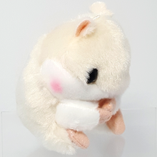 Kawaii Hamster Plush White