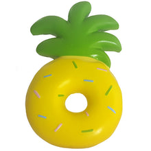 Yellow Confetti Donut Pineapple Scented Squishy Front