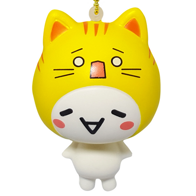 Yellow Emoji Cat Squishy