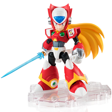 Zero NXEDGE Style Mega Man X Bandai Tamashii Nations Figure