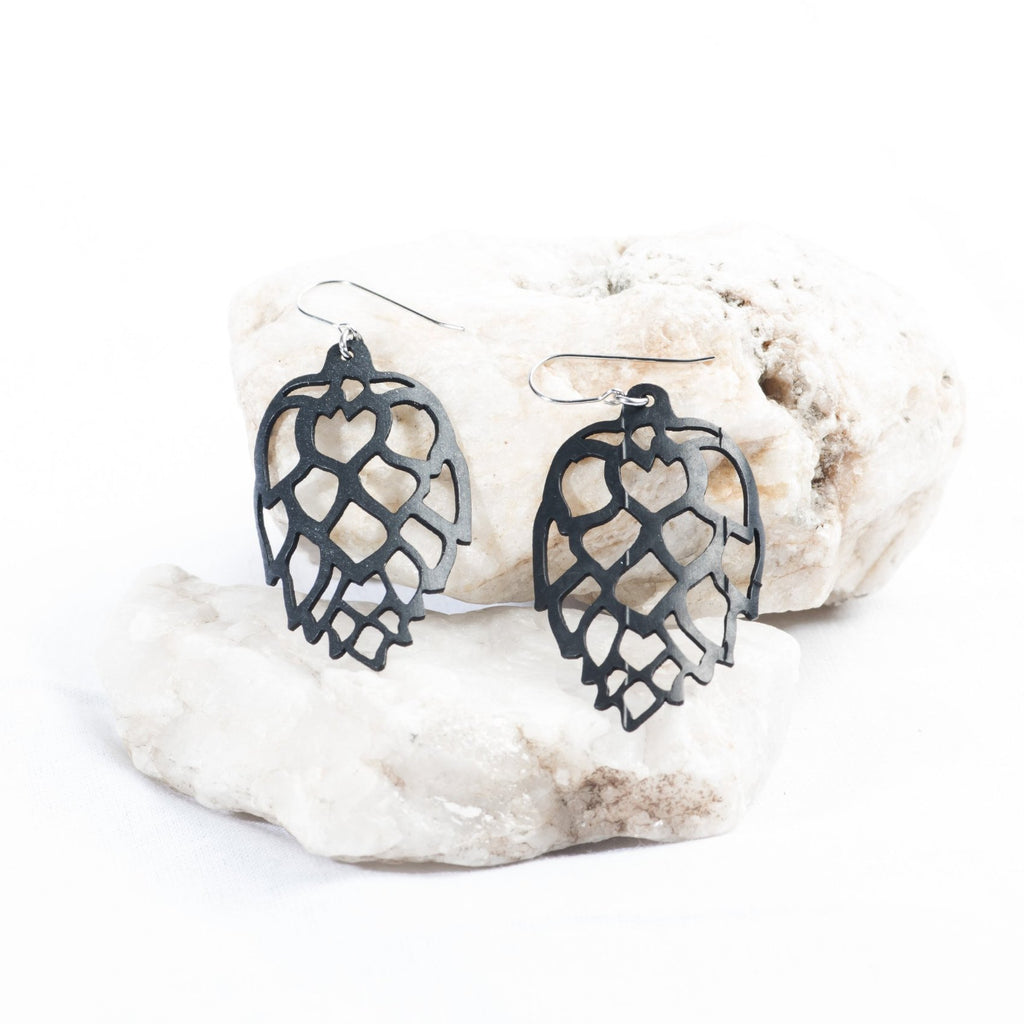 Support Small Business Bike Tire Earrings Vermont Gift