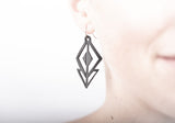 danica short rubber earring