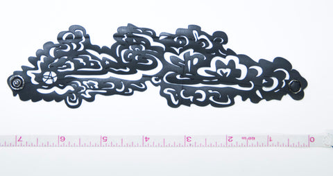 Clouds rubber bracelet
