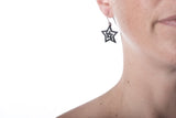 tiny star earring