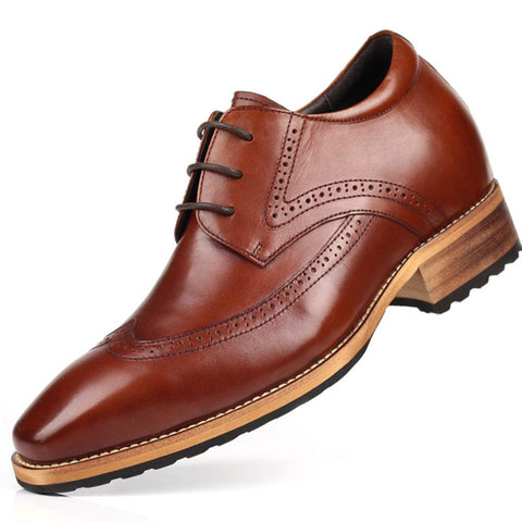 The Wall Streeters - 8cm Height Increasing Elevator Shoes