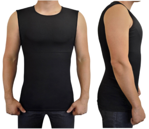1c99eed0 Funkybod Sleeveless Black Undershirt - GroomBros.com.au | Groom Bros