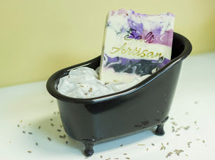 Lavender Scented Soap - Salt Artisan Bath & Body Creations