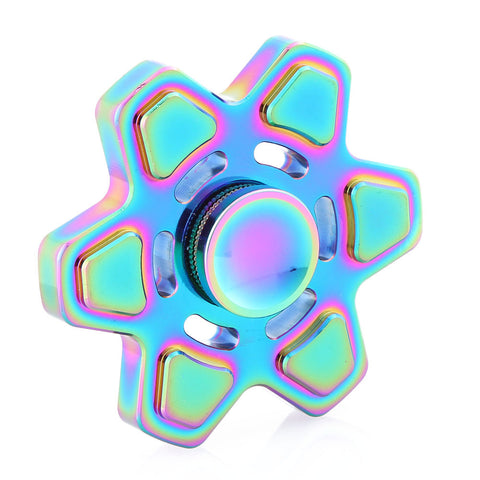 Hexagon Metal Colorful Spinner