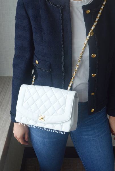 How to style your vintage Chanel Diana bag.