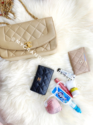 vintage chanel diana small