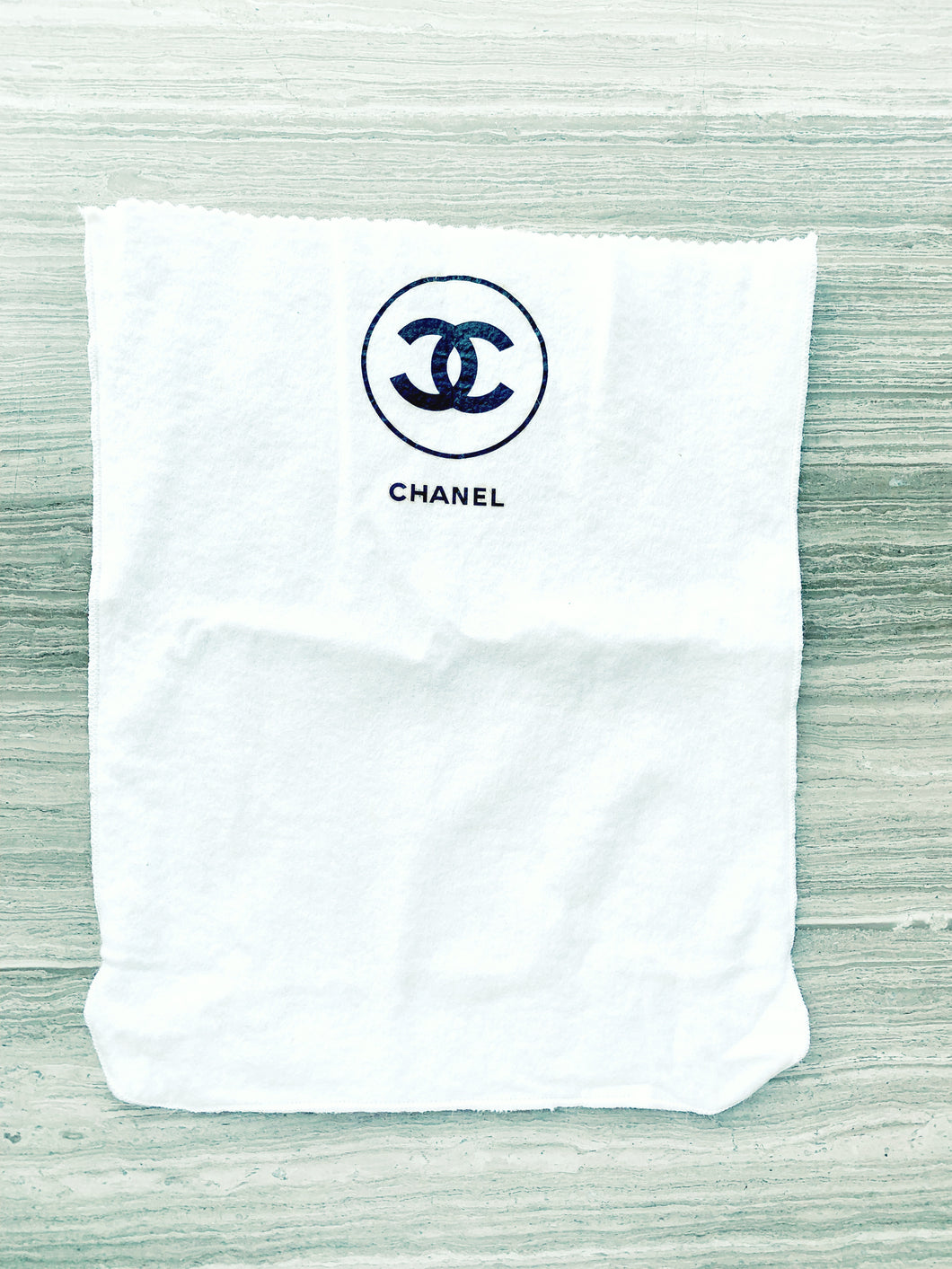 Vintage Chanel Dustbag - My Grandfather's Things