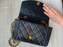 Esther, 5 series dark navy small lambskin Diana - My Grandfather's Things