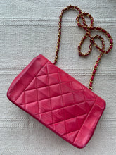 Renee, small dark pink lambskin Diana - My Grandfather's Things
