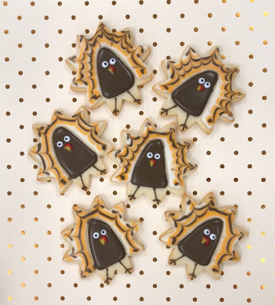 Tom Turkey Thanksgiving Cookies