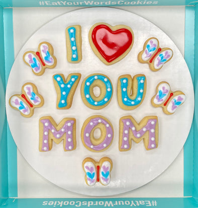 I Love You Mom Cookies