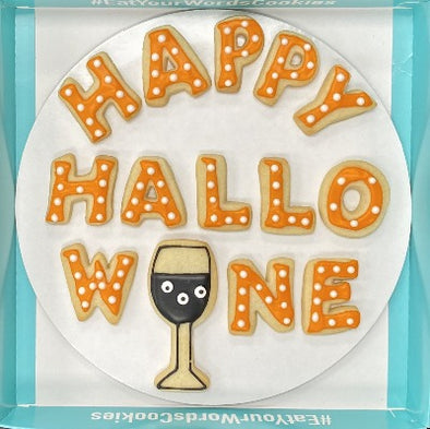 Happy HalloWINE Cookies