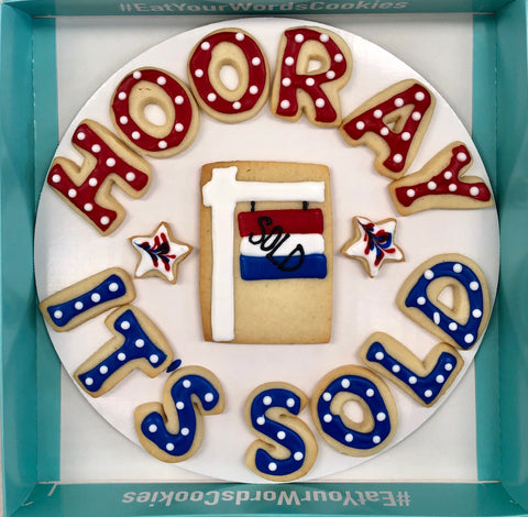 Hooray It's Sold Cookies