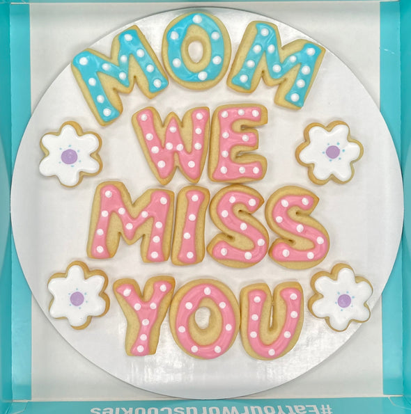 Miss You by Name Cookies